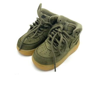 NIKE Olive Air Force 1s